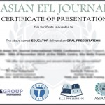Asian EFL Journal