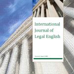 International Journal of Legal English